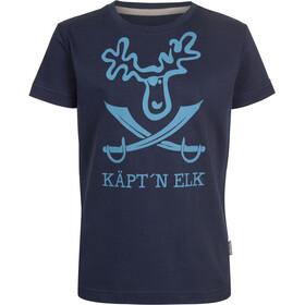 Elkline Schatzinsel Shortsleeve Shirt Children blue